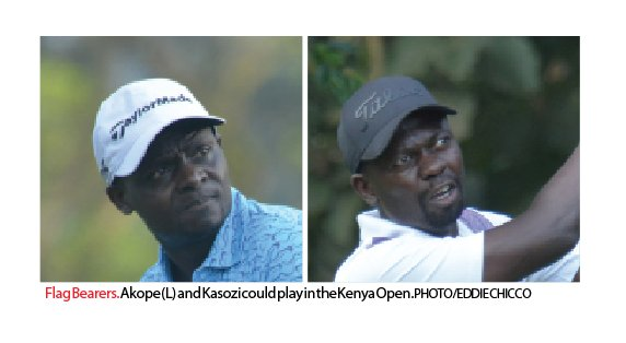 Slots increment draw Akope, Kasozi closer to Kenya Open