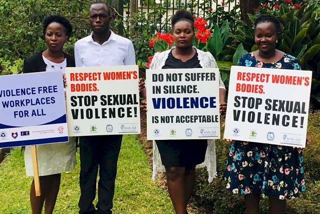 Women Activists Condemn Sexual Harassment At Work Place