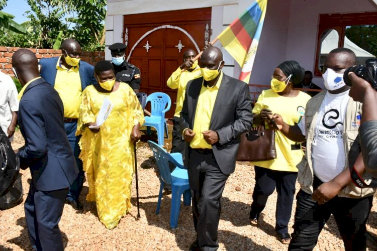NAMAYANJA WARNS AGAINST VIOLENCE IN NAKASEKE