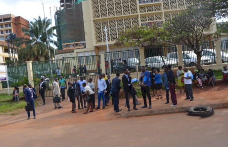 Implementing presidential directive on COVID-19, Court users locked out and stranded