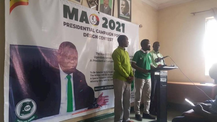 DP presidential candidate Mao unveils campaign posters, cars