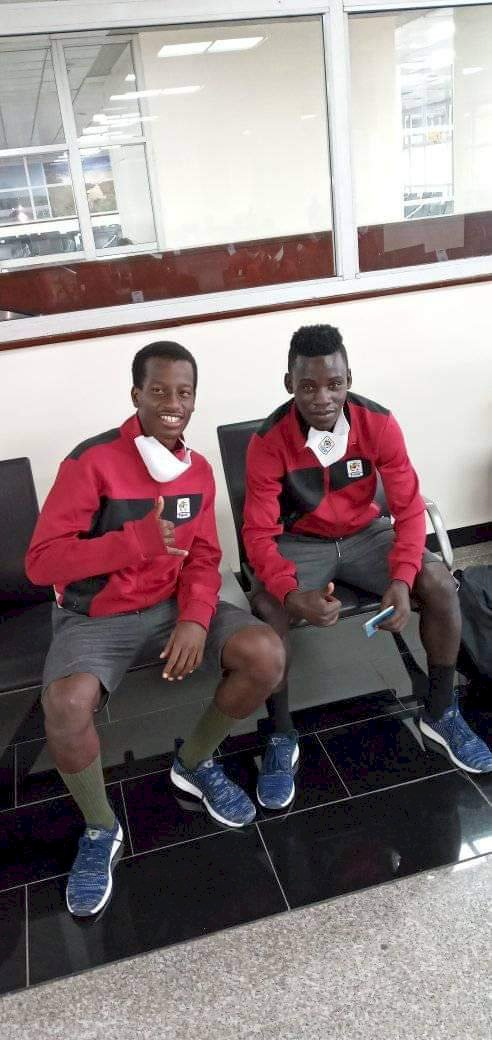 Bebe Cool's Son  Travels With the Squad  For Total CAF U-20 Zonal Qualifiers