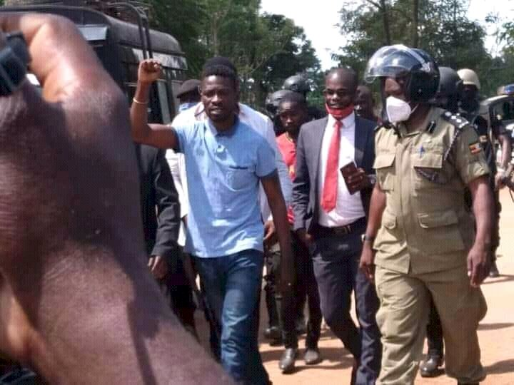 Finally Bobi Wine Has Been Set Free