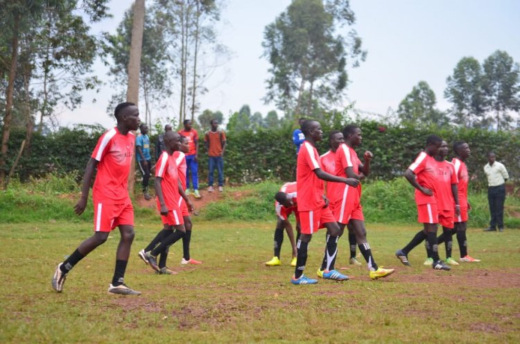 Busiro Humbles Kick IT Soccer  Academy in a Goal Thriller