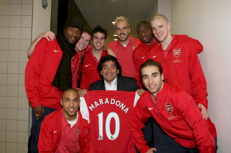How Arsenal fan Diego Maradona almost signed for the Gunners