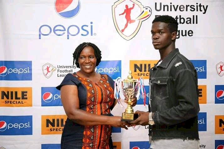 Pepsi University League Best Defender 2019 has Joined Gomba FC.