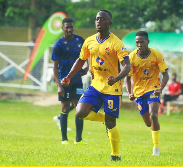 Soltilo Bright Stars (1-2) KCCA FC AS Brian Aheebwa Scores The First Goal of The Season.