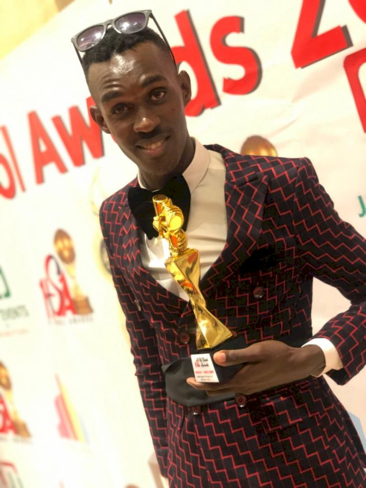 Radio Simba's Sureman Ssegawa Won The Best Sports/ Commentary of The Year