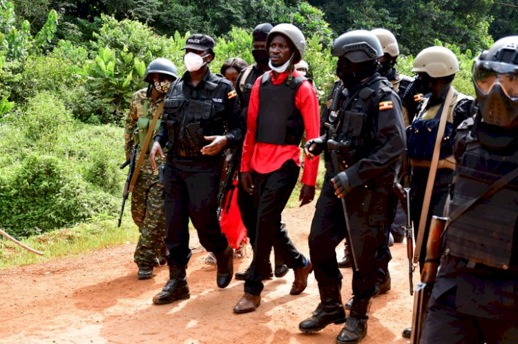Bobi Wine And His entire campaigning team arrested in Kalangala.