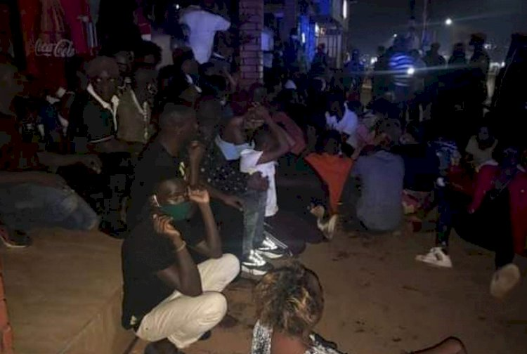 More than 200 people were arrested in Kampala city for flouting Covid-19 guidelines.