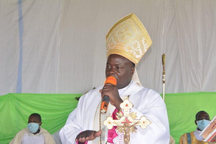 EOC'S Bishop Kibuuka prays for free, fair elections, urges security officers, public to respect human life