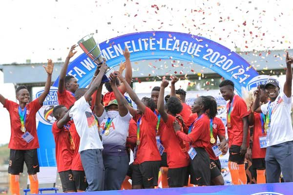Namwembe leads She Maroons to FWEL title