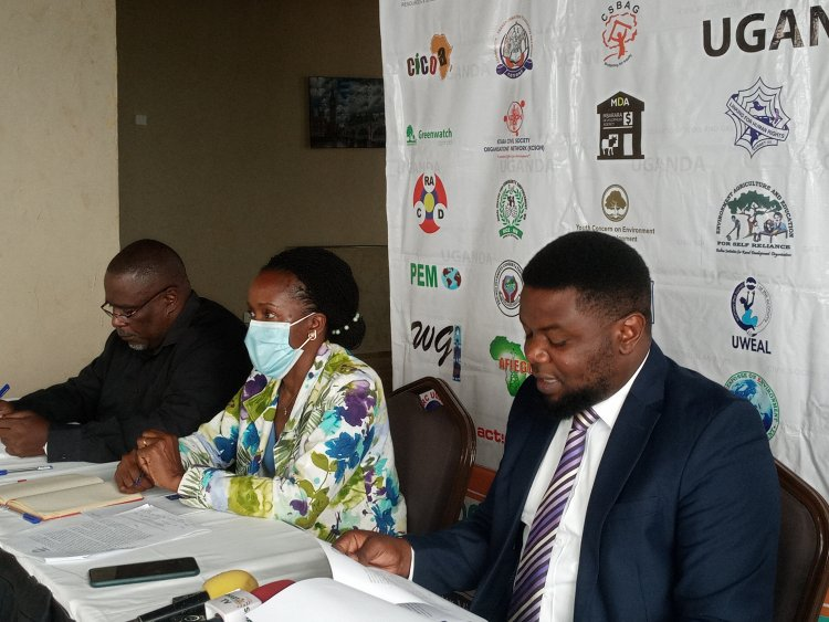 """""""Transparency And Accountability"""" Civil Society Organisations Ask Government To Prioritise Uganda's Citizens Interest First In Oil And Gas Production."""