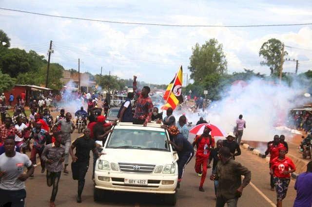 Bobi wine has been refused to Hold Campaigns in Pader
